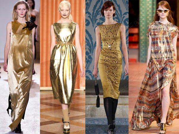 Трендовые вечерние платьица осень-зима 2015