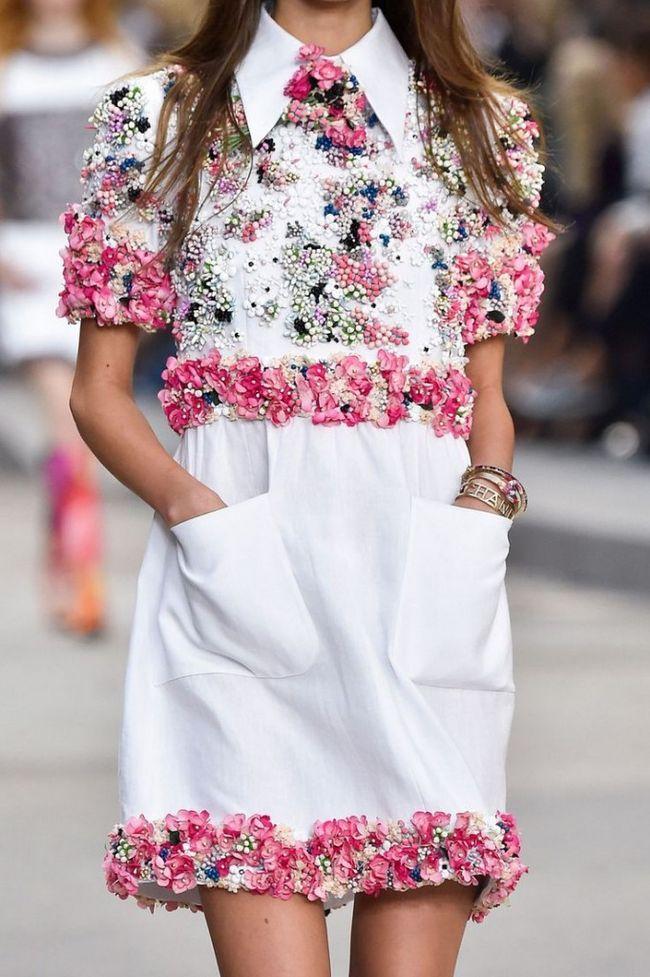 Трендовые весенне-летние платьица 2015. Коллекция Chanel