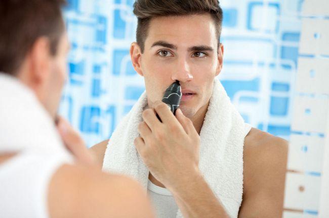 Триммер для носа: 4 правила эксплуатации