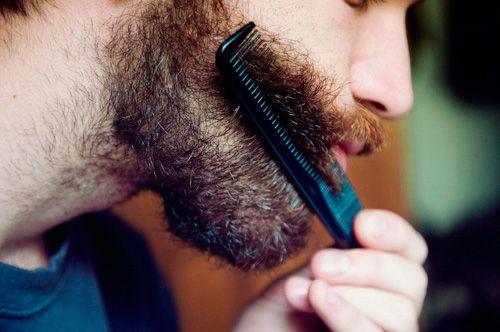 Укладка бороды