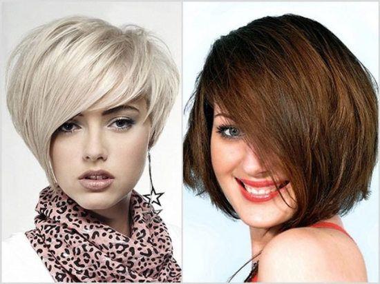 Универсальная стрижка для коротких волос или стрижка боб