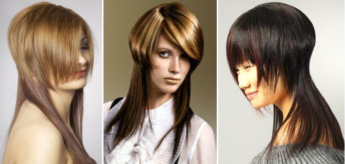 Универсальные женские стрижки на длинные волосы