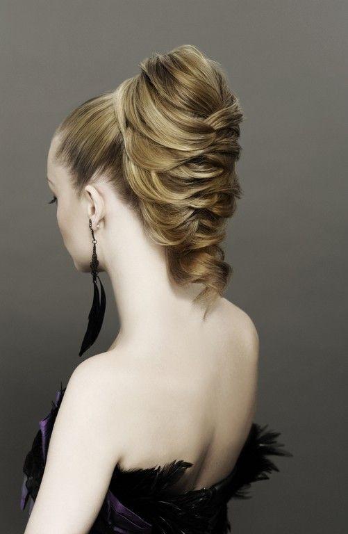 Вечерние прически с плетением, интересные косы из волос