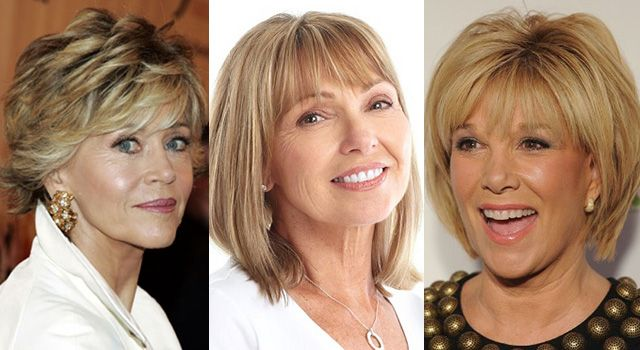 Окрашивание волос для пятидесятилетних