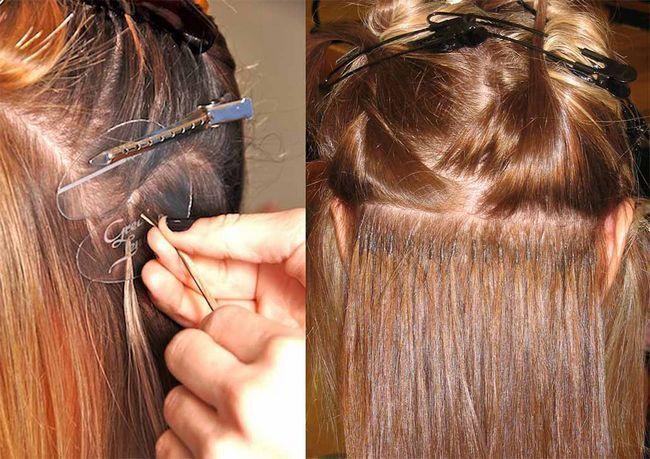 Восстановление волос после наращивания