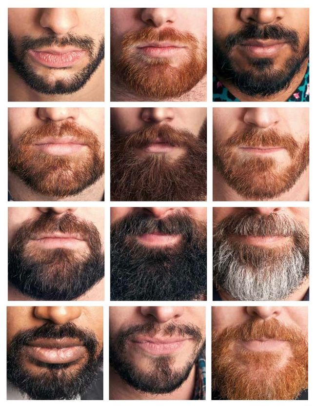 Выбираем форму бороды